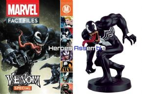 Marvel Fact Files Venom Special With Figurine Eaglemoss